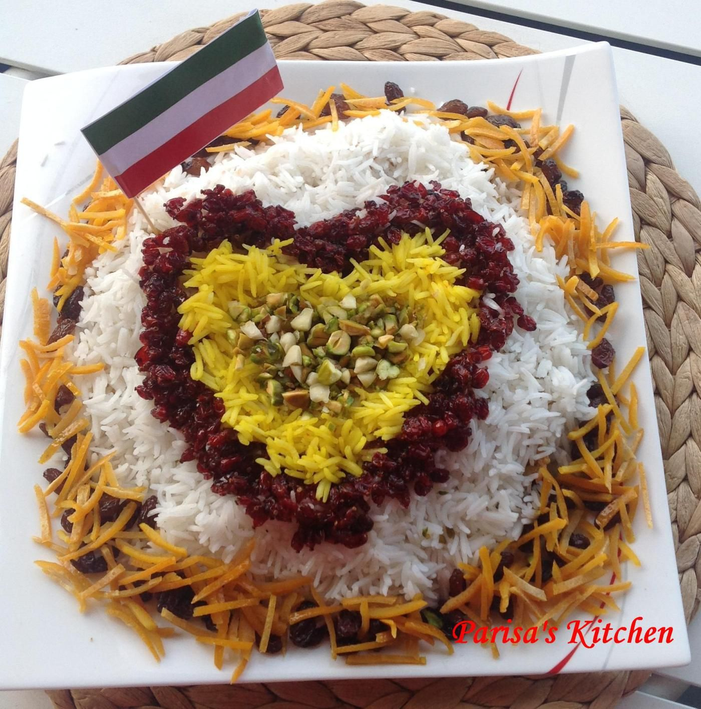 Jeweled Rice (Morasa Polow)--Recipe with std-by-step pictures!