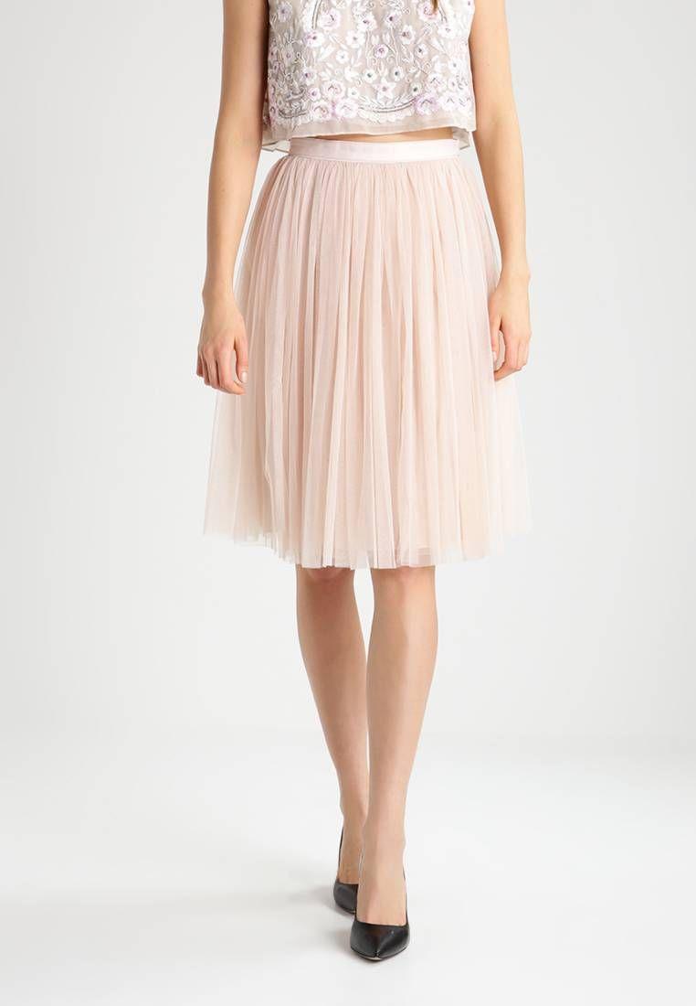 508434a914 Needle & Thread. Spódnica trapezowa - petal pink. Materiał:100% nylon.