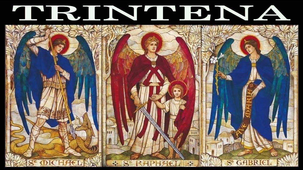 A Trintena Dos Anjos Gabriel Rafael Miguel 7 Arcanjos Arcanjo