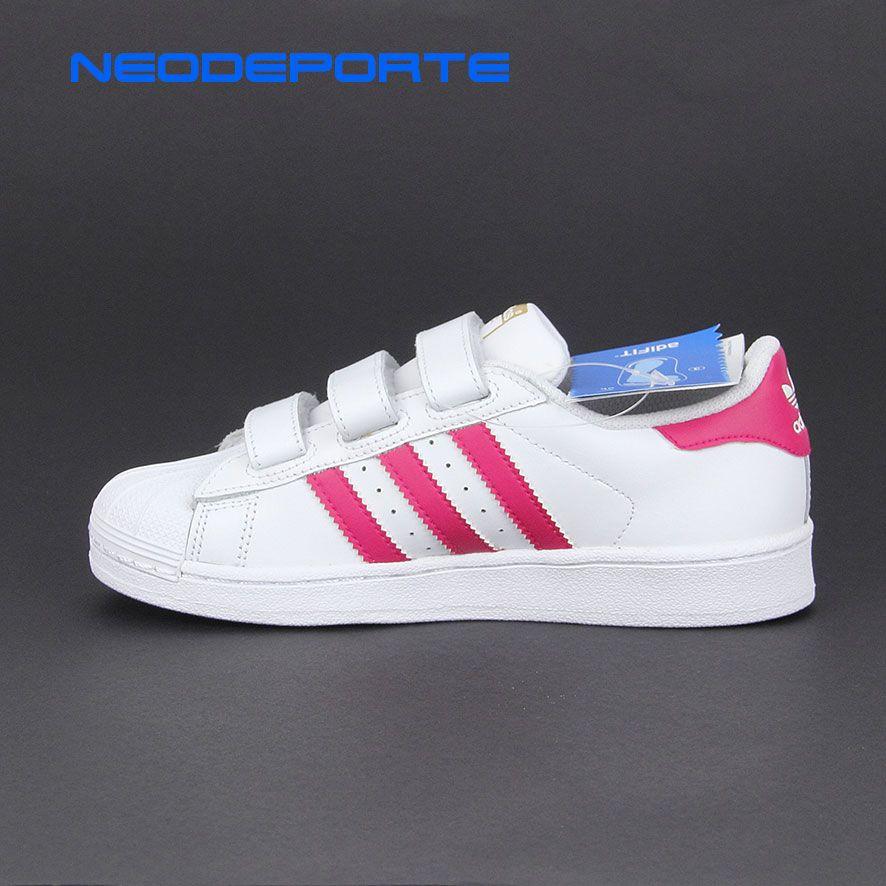 detailed look cd3fd d9591 Resultado de imagen para zapatillas adidas superstar para niñas