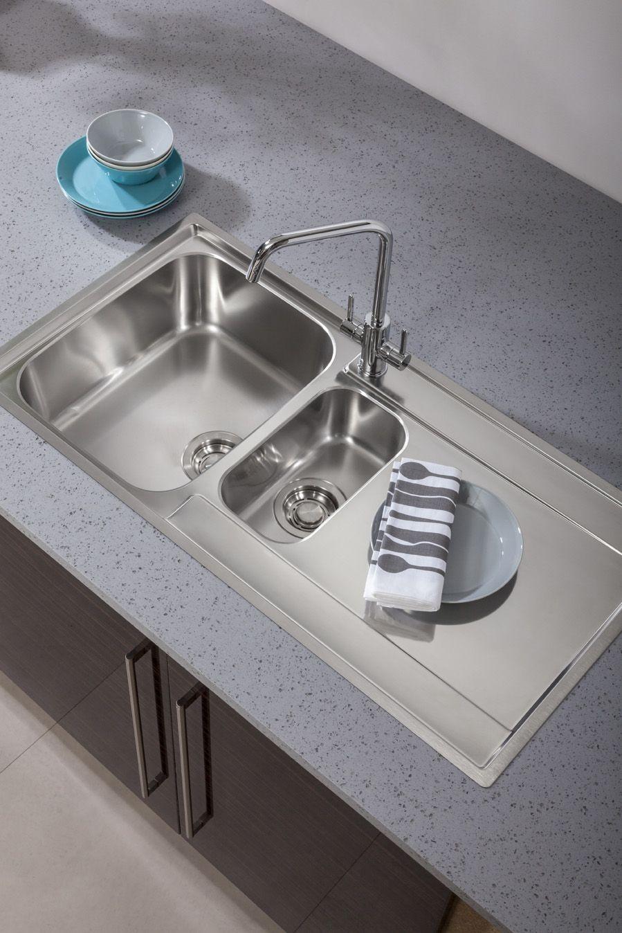 Franke Maris Slimtop Sink And Maris Tap In Chrome Franke Kitchen Sink Kitchen Design