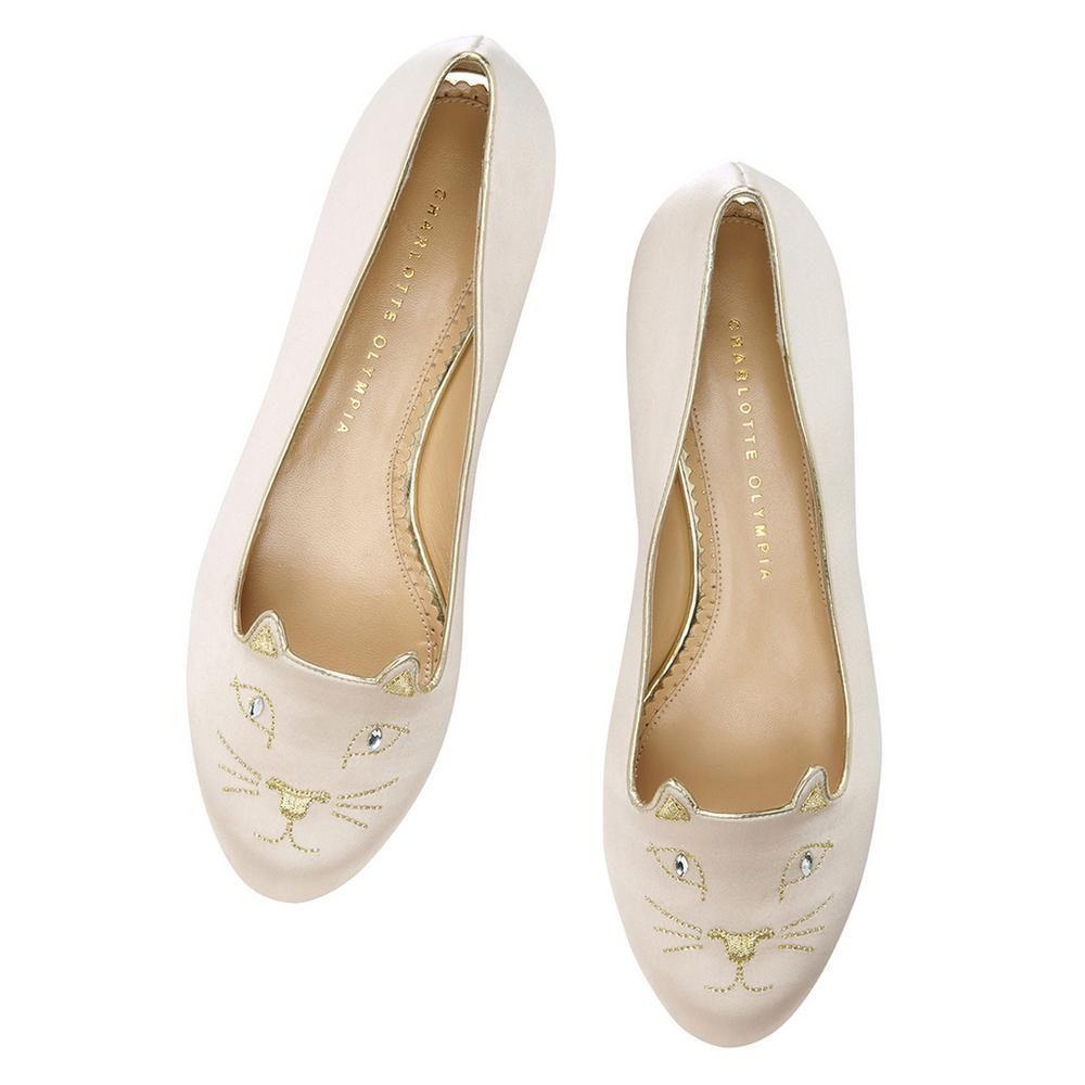 Kitty Flats | Luxury Designer Shoes & Handbags | Charlotte Olympia