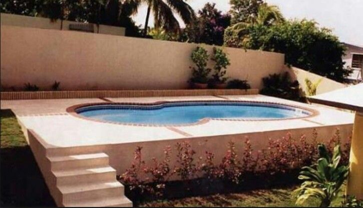 Nice Way To Hide An Above Ground Pool Semi Above Ground Pool