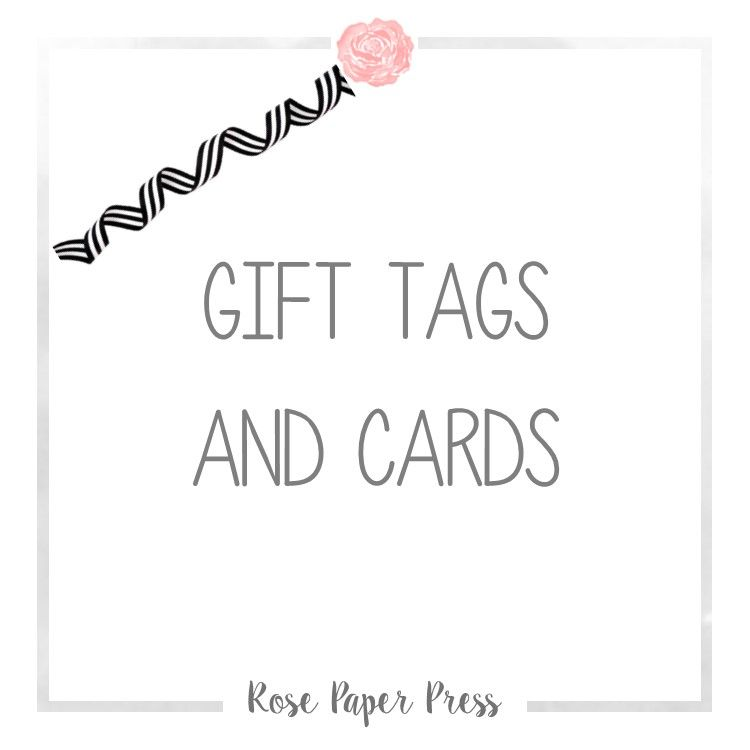 Pin by Rose Paper Press on Gift Card Holders and Gift Tags