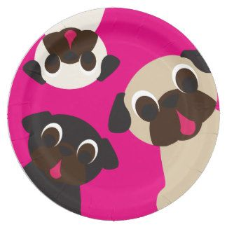 Grumble Grumble Pug Paper Plate Madeline In 2018 Pinterest