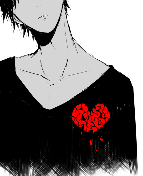 Izaya has a broken heart...