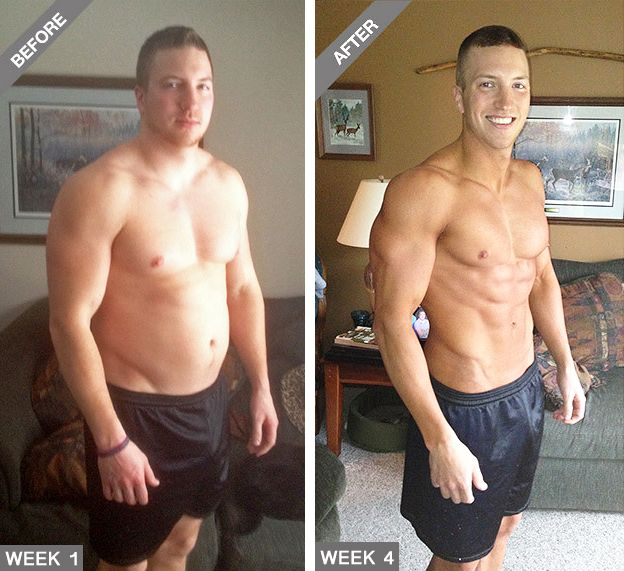 Men's Fitness - How To Lose At Least 9.5 Kg (21 Lbs) of Belly Fat and Get Ripped in Just 1 Month With These 2 Groundbreaking Products