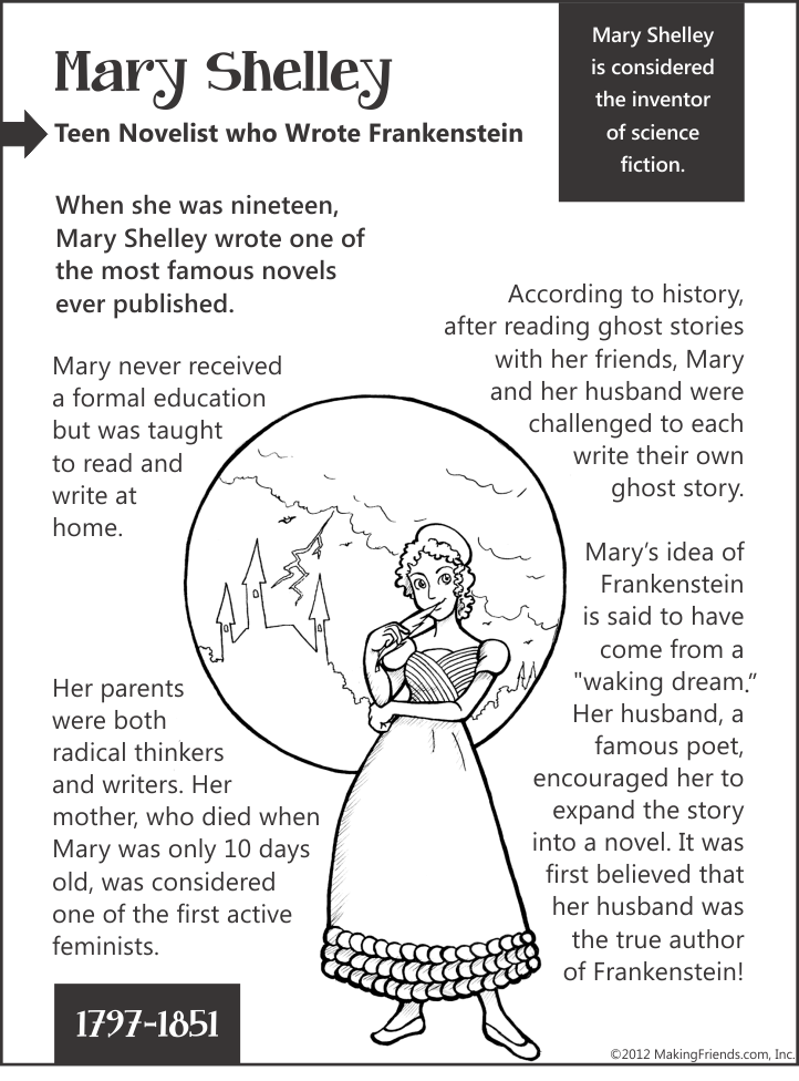 essay mary novel shelleys Frankenstein by mary shelley essay introduction: mary shelley's frankenstein is a book with a deep message that touches to the very heart this message implies that the reader will not see the story only from the perspective of the narrator but also reveal numerous hidden opinions and form a personal interpretation of the novel.