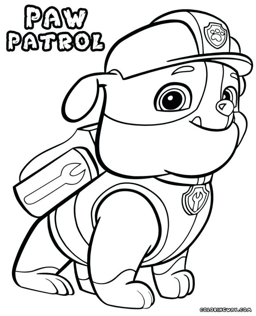 photo about Paw Patrol Coloring Pages Printable titled Chase Paw Patrol Coloring Webpage Printable Absolutely free Printable Paw