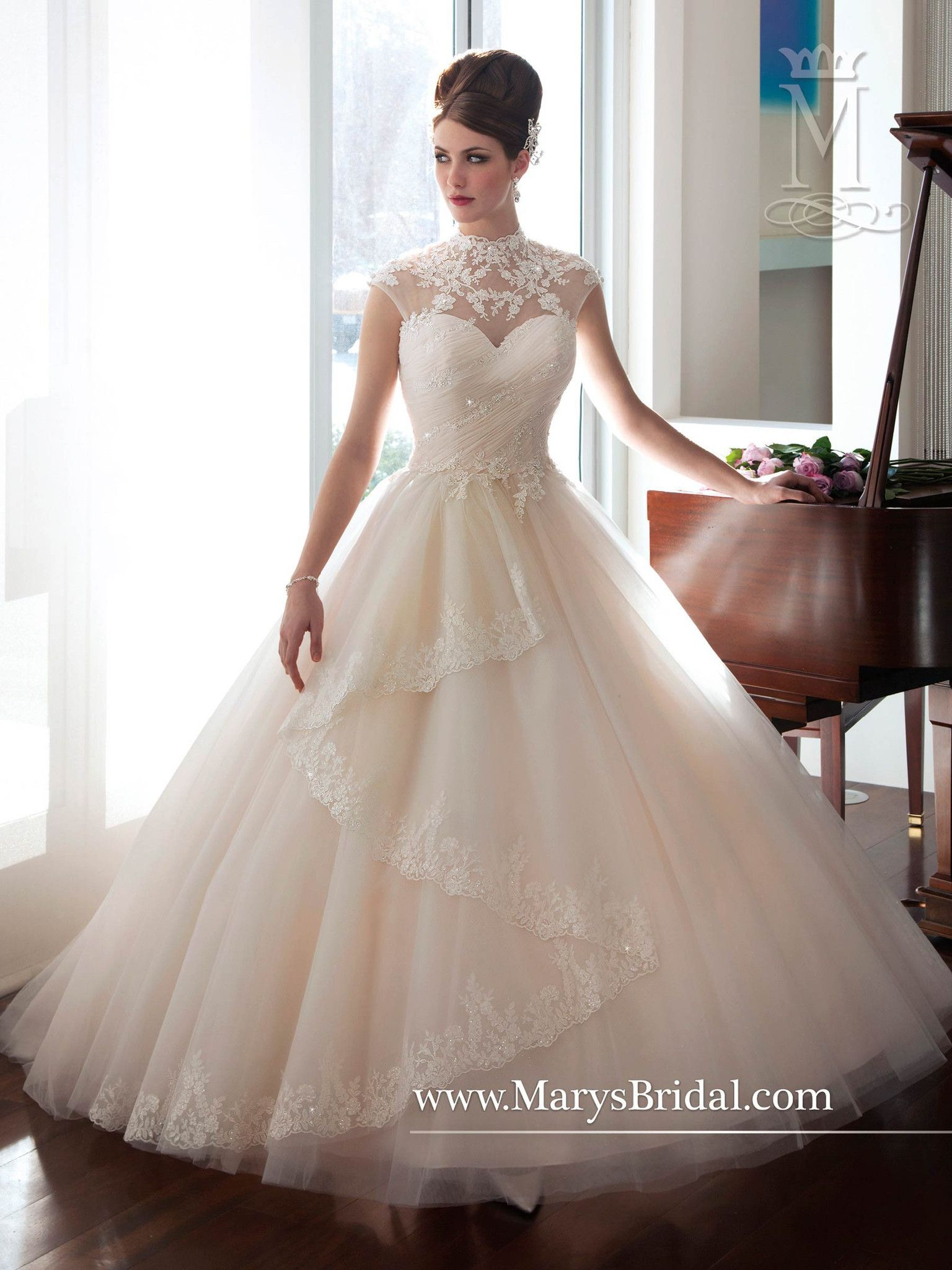 Sparkling tulle ball gown stuff to buy pinterest ball gowns
