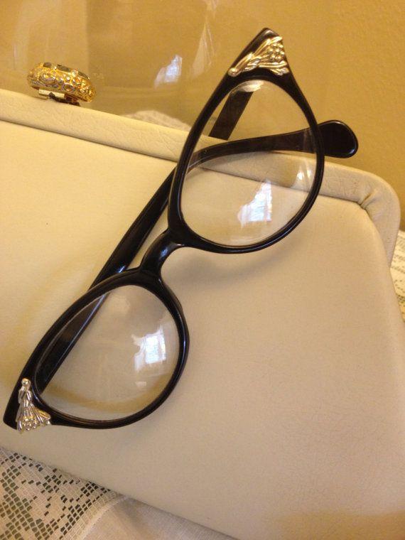 1950s Cats Eye Vintage Eye Glasses