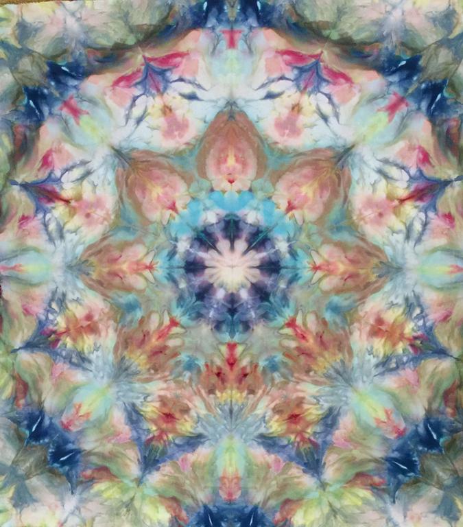 Kay Koeper Sorensen's Ice Dyeing