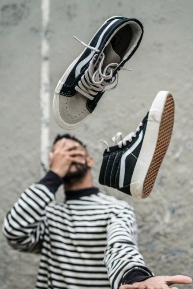 29d35dda9df1 Luce wearing Fear of God Striped T-Shirt