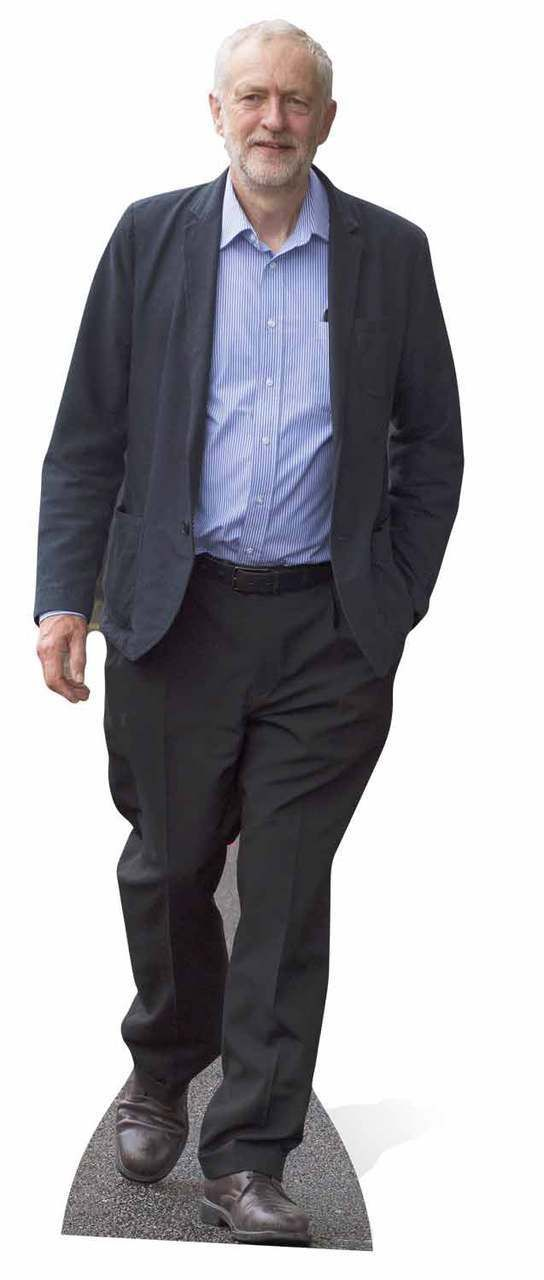 Jeremy Corbyn Cardboard Cutout Standee Stand Up Cardboard Cutout Jeremy Corbyn Cardboard Cutouts