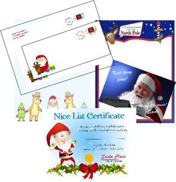 Printable Santa LettersCom  Create Personalized Santa Letters At