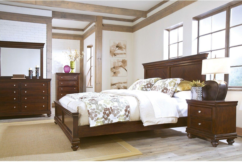 Bridgeport 6 Piece Queen Bedroom Set Apartment Furniture Ideas