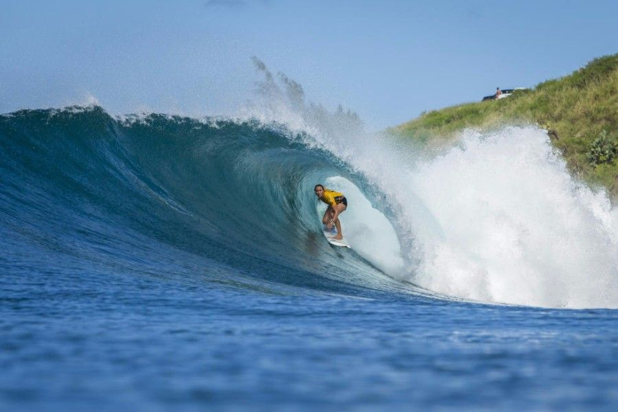World Surf League Target Maui Pro Carissa Moore won and