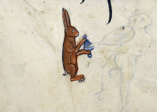 Psalter, Use of Sarum ('The Rutland Psalter') c. 1260. produced c. 1260 in England, possibly in London ms 62925 f054r detail british..