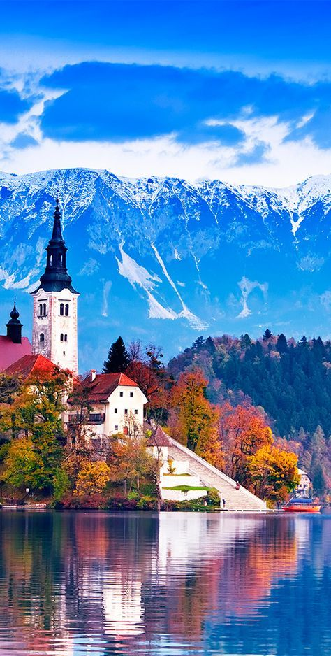 Lake Bled Is Found In The Julian Alps In Northwestern Slovenia And Is One Of The Most Famous