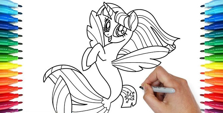 My Little Pony Mermaid Coloring Pages Mermaid Coloring Mermaid Coloring Pages Coloring Pages Winter
