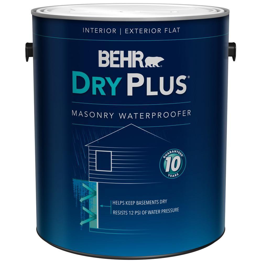 Behr 1 Gal 876 Basement Gray Dry Plus Masonry Waterproofer 87501 Basement Gray Basement Basement Waterproofing Paint