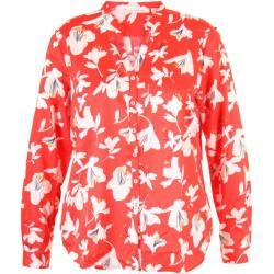 Photo of Eterna red blouse with floral print