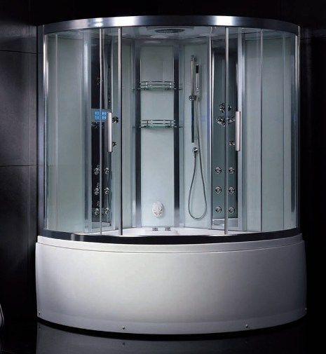 Wasauna NOVARA Steam Shower   Tub Combination Unit  2 Persons Capacity  20  Jets Wasauna NOVARA Steam Shower   Tub Combination Unit  2 Persons  . Shower Tub Combination Unit. Home Design Ideas