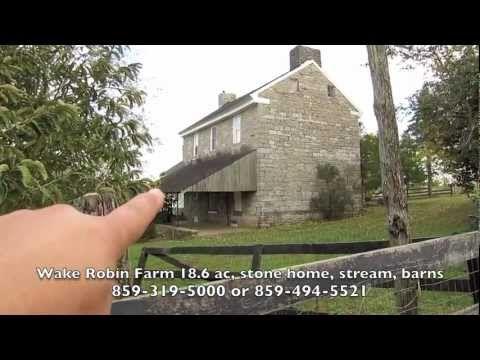 Pleasant Stone House 18 Ac Stream Barns Horse Farm For Sale Beutiful Home Inspiration Xortanetmahrainfo