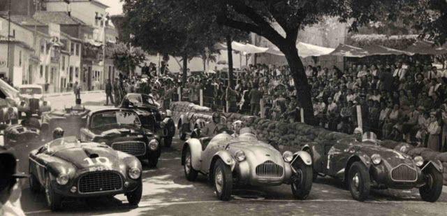 1950 Vila Real Portugal Allard J2s Of Casimiro De Oliveira And