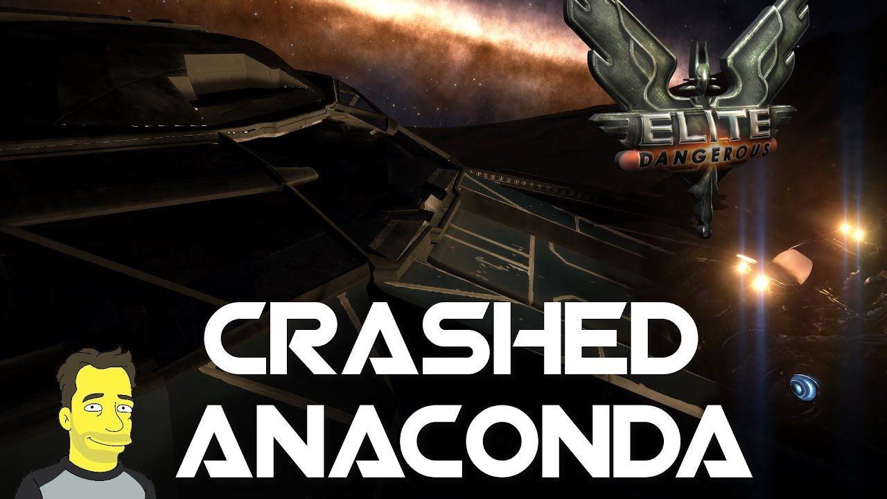 Elite Dangerous Convoy Crash Inside Anaconda Cockpit Elite