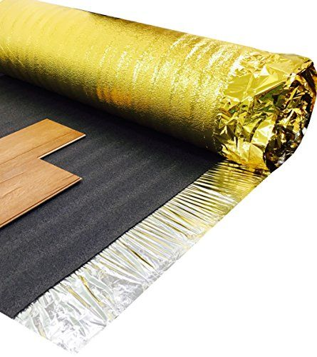 From 2499super Gold Comfort 5mm Laminate Wood Floor Underlay With