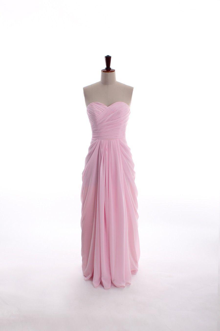 sweetheart neckline chiffon dress | Bridesmaids & Bachelorette party ...