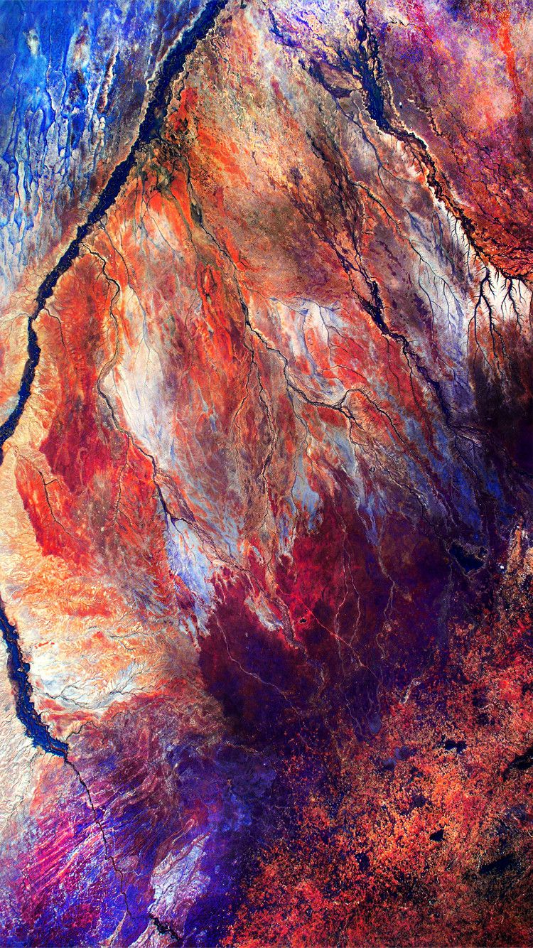 Earth Satellite Image Iphone Wallpaper 4 750x1334