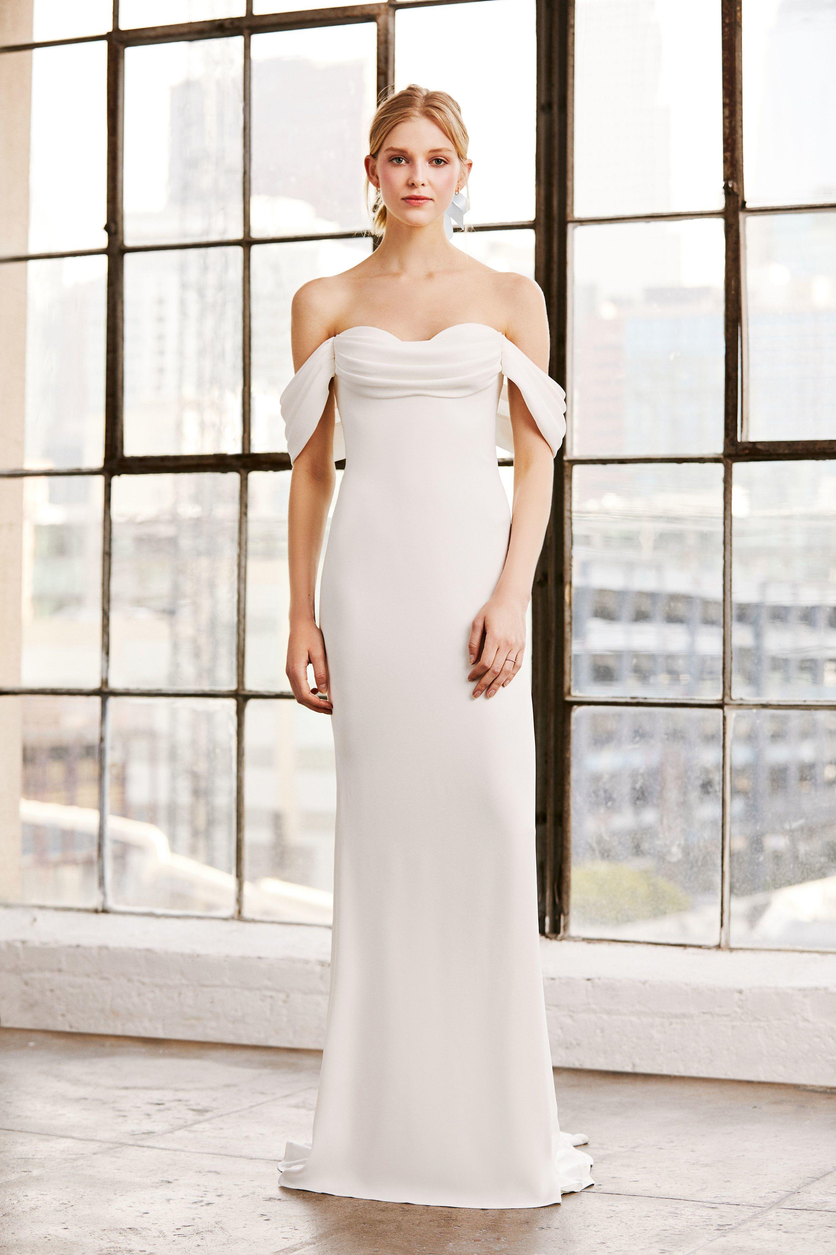 50f43df9fa7 Tadashi Shoji Bridal Spring 2019 Fashion Show in 2018