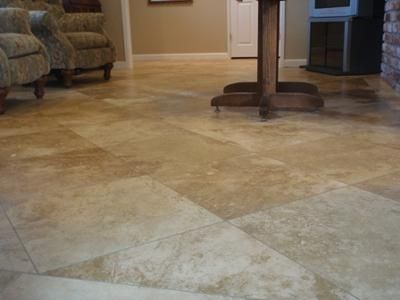 Honed Travertine Floors I Am Very Pleased With Integrity