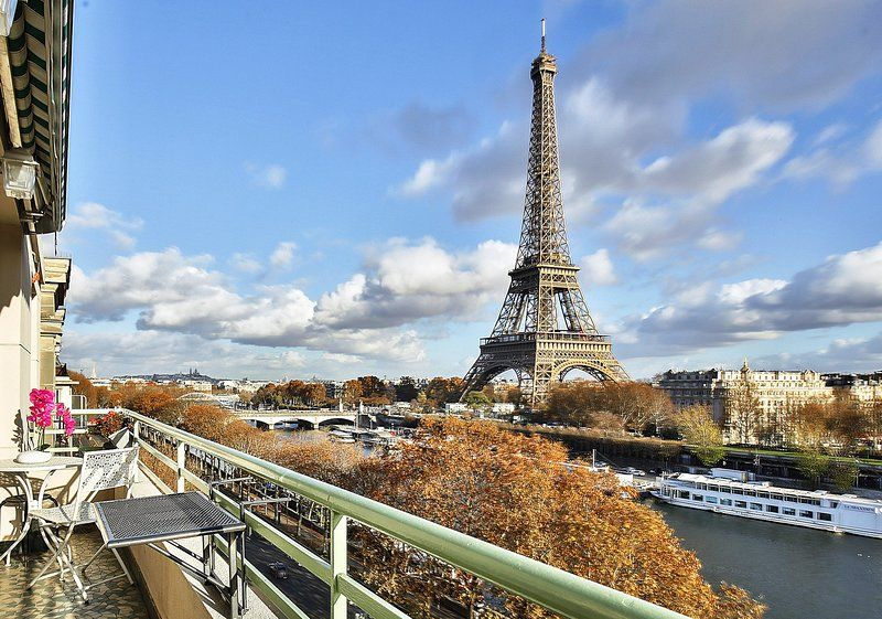 Amazing View Eiffel Tower 1618 Has Terrace And Central Heating