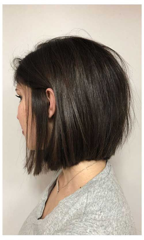 20 Chic Short Hairstyles For Straight Hair With Images Choppy Bob Hairstyles Short Summer Haircuts Thick Hair Styles