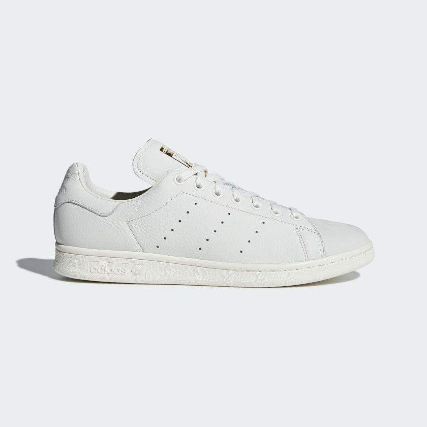 Mediana sequía importante  Stan Smith Premium Shoes Running White / Running White / Gold Metallic  B37900 | Adidas shoes stan smith, Stan smith shoes, Adidas stan smith