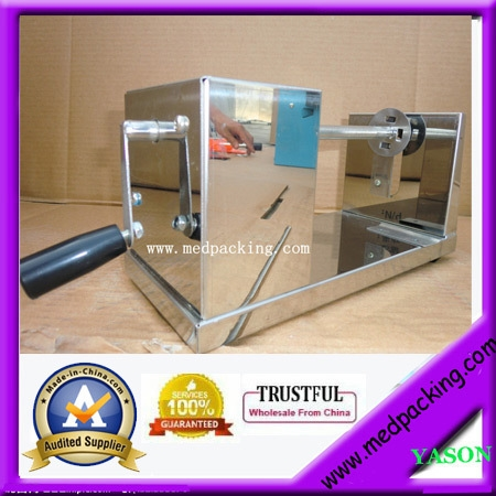 (66.00$)  Watch more here  - Stainless Steel Spiral Manual Potato Chips Slicer Cutter YS-130