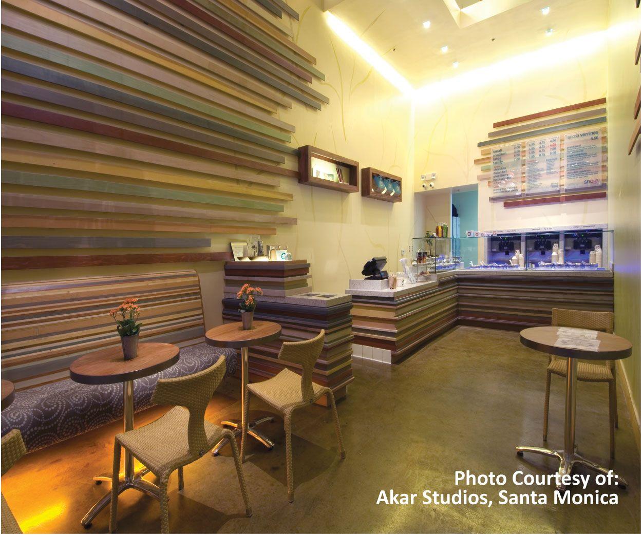 restaurant concrete floor stain ideas. #soycrete bio-based