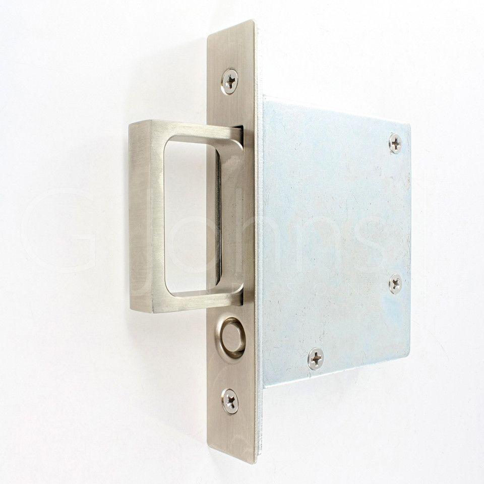 Satin Nickel Thumbturn Deadbolt Exterior Plate Door Hardware All-metal Chassis