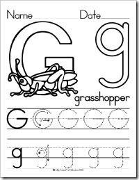 Pin De Rosette Zota Em Preschool Alfabeto Em Ingles Atividades Com A Letra G Alfabeto Pre Escolar Printable letter g worksheets for