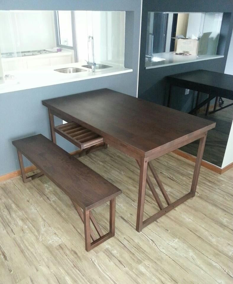 Japanese Floor Dining Table japanese furniture. tocco dining table and bench (solid siam