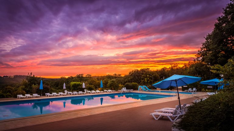 #swimming #pool #sunset #France #camping #LesCastels #French #Travel #DomainedelaPailleBasse #Souillac #food #duck #Dordogne #sightseeing #glamping