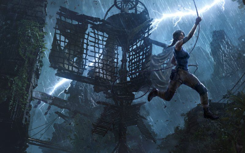 X-post from gaming: Lara from the new tomb raider game