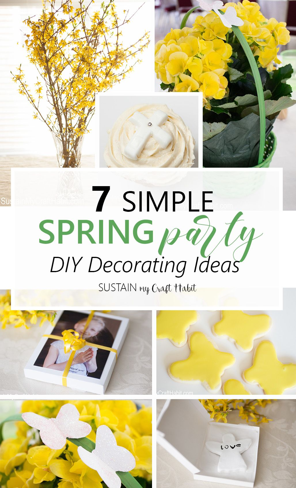Simple Budget Friendly Diy Spring Party Decorating Ideas