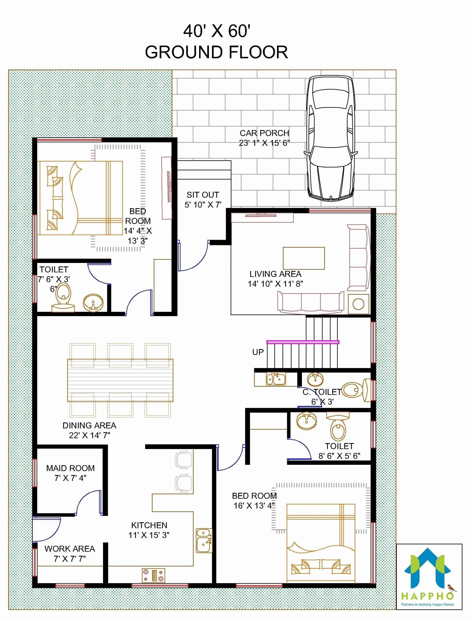 2400 Sq Ft Home Design Elegant Is 2400 Sqft Sufficient For 6 Bhk House Nopalnapi In 2021 Square House Plans Unique Floor Plans Beautiful House Plans