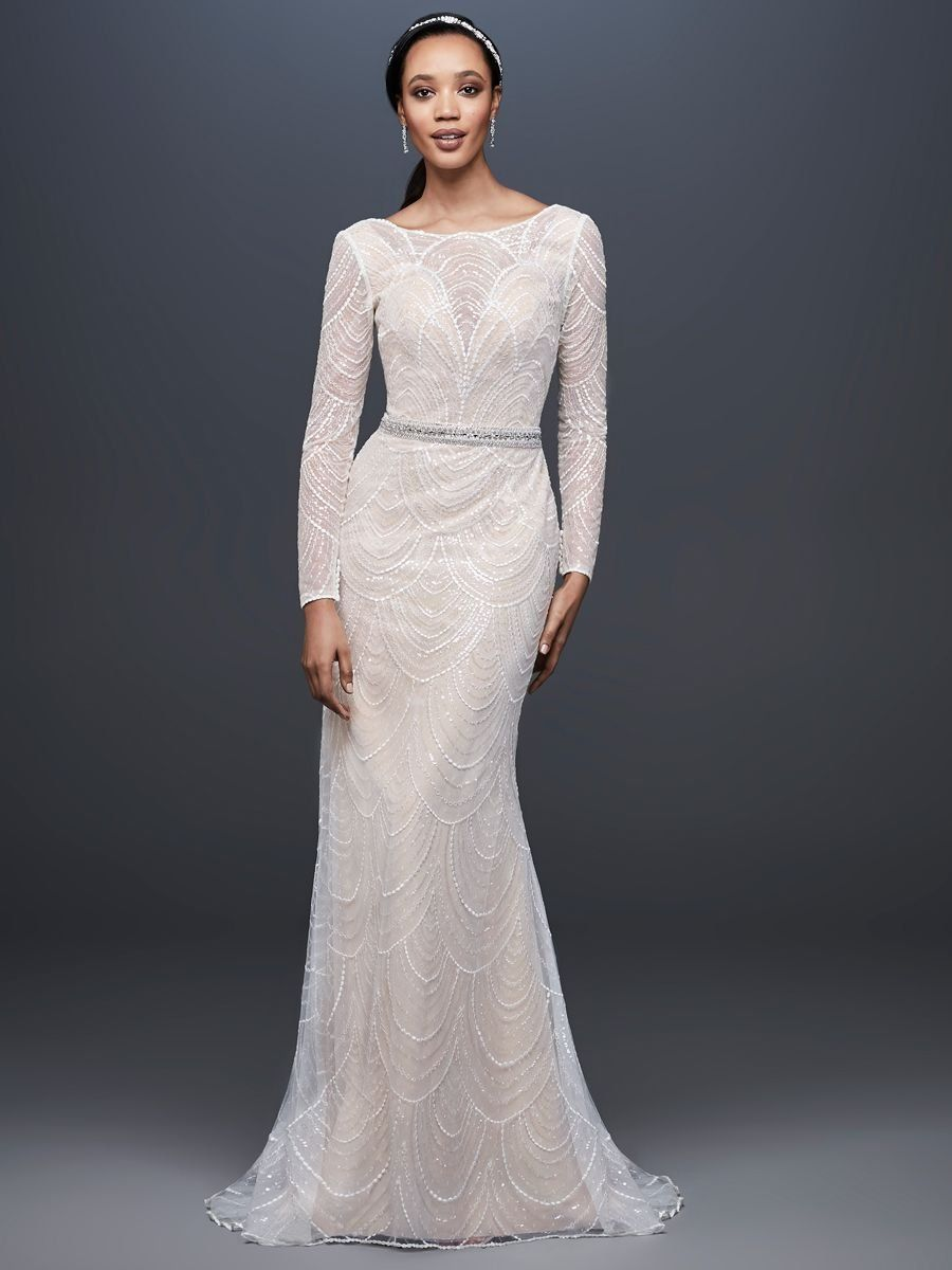 Galina wedding dresses  Galina Signature Spring  Modern Elegance Meets Art Deco Flair