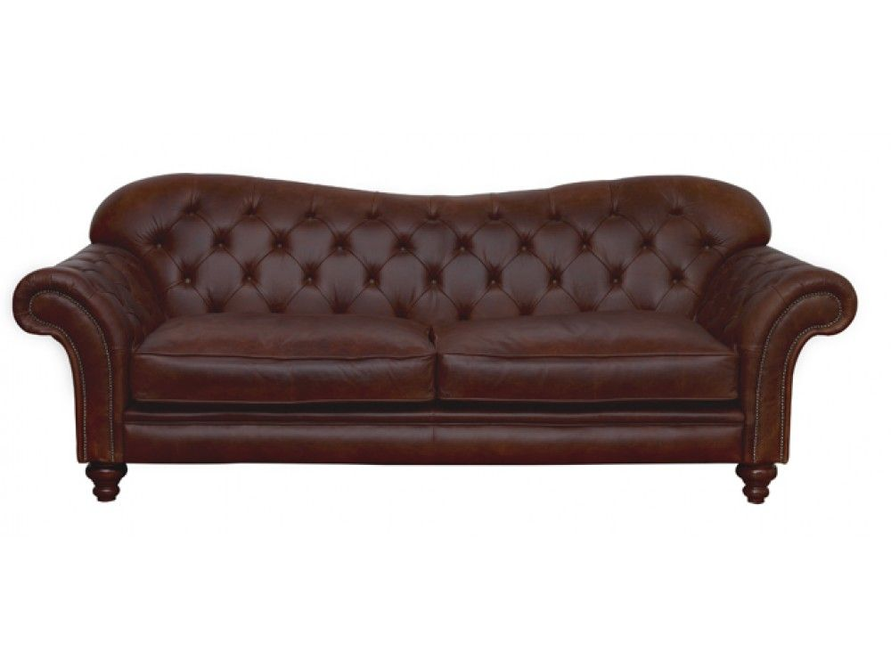 The Crompton Vintage Brown Chesterfield Sofa Range From English Company