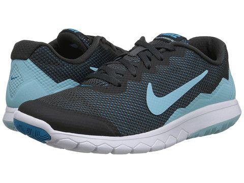 Womens Shoes Nike Flex Experience Run 4 Anthracite/Blue Lagoon/White/Copa